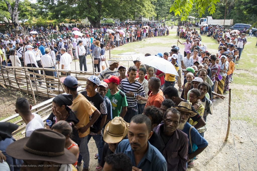EC-UNDP JTF - Timor Leste went to poll to elect new President