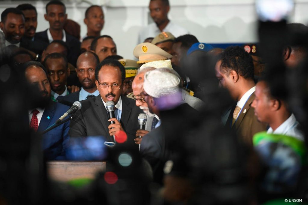 EC-UNDP JTF - Somalia Elects the New President After Historic Elections