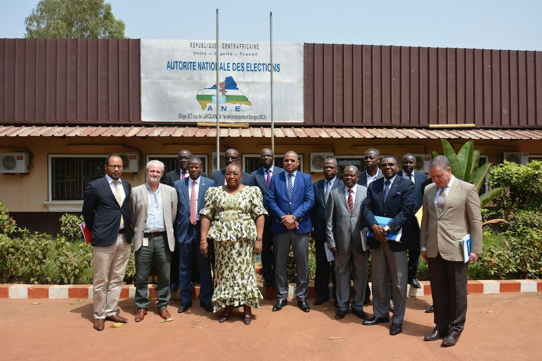 End of the Electoral Assistance Project in the Central African Republic