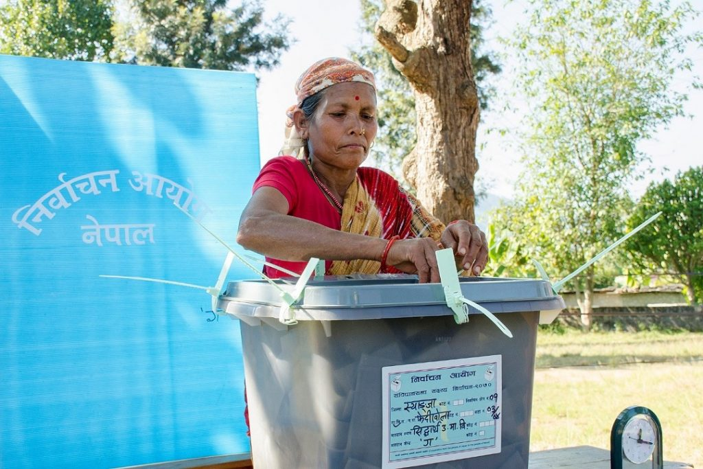 EC-UNDP JTF - Updates on Preparations of Upcoming Local Elections in Nepal