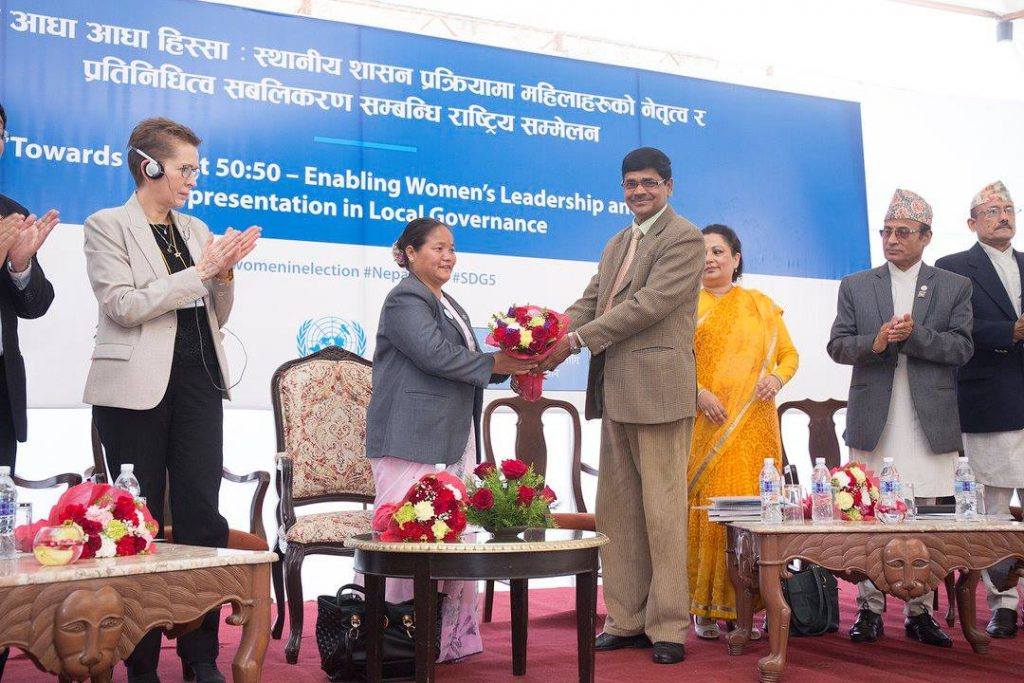 EC-UNDP JTF - Towards Planet 50:50: Enabling Women's Leadership and Representation in Local Governance in Nepal