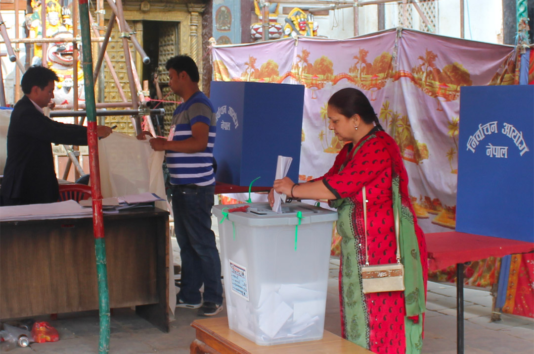 Nepal 2017 Local Election e-Day