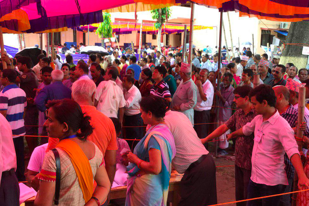 Local Elections Phase II concluded with large turnout in Nepal