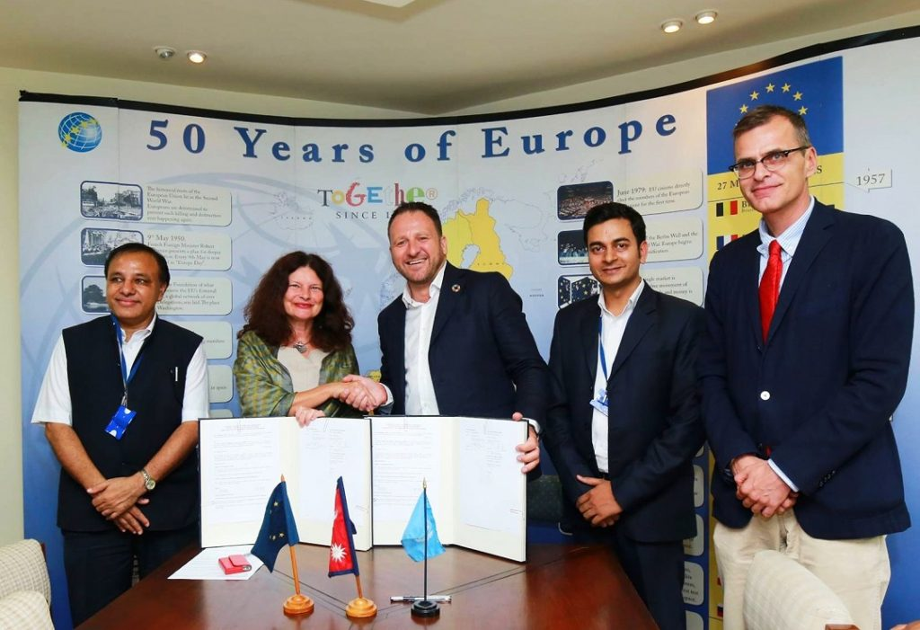 EC-UNDP JTF - European Union contributes an additional € 1.6 million for Nepal elections