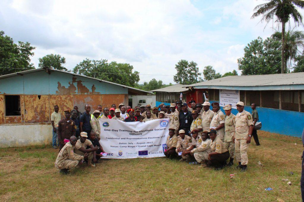 EC-UNDP JTF - Press Release: Security Training in Liberia