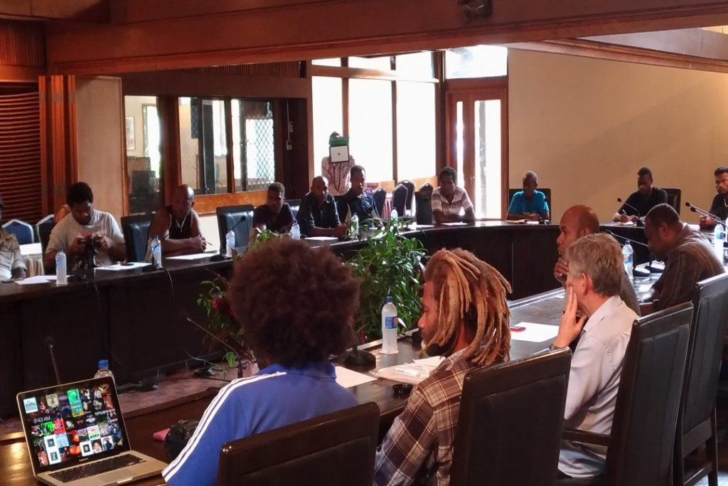 EC-UNDP JTF - Media trainings prepare journalists in the Solomon Islands for the upcoming electoral events