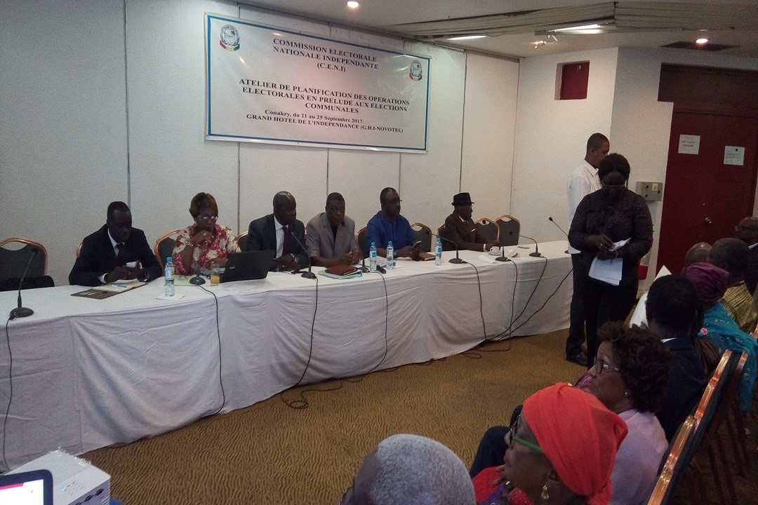 Electoral Commission in Guinea is planning electoral operations for upcoming local elections