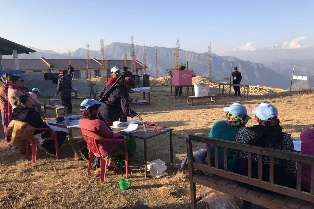 EC-UNPD JTF - Historic elections in Nepal