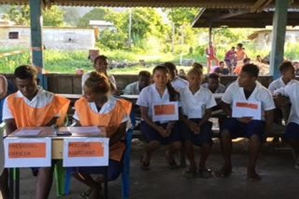 EC-UNPD JTF - School Essay and Poster competition on Women's Leadership and Political Participation in Solomon Islands