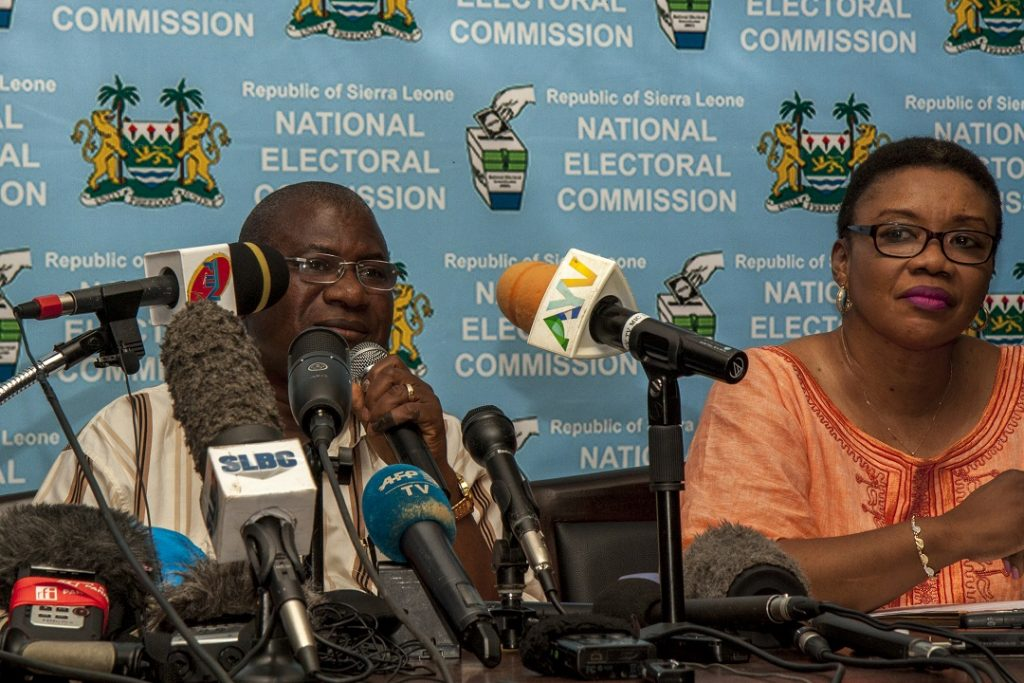 EC-UNDP JTF - Sierra Leone elects new president with high voter turnout