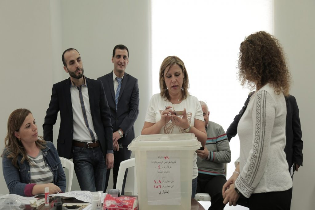 EC-UNDP JTF - Enhancing the Capacity of Electoral Officials in Lebanon