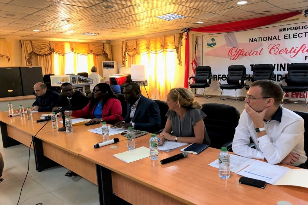 EC-UNDP JTF - National Elections Commission, UNDP and international partners focus on the future and election observer recommendations in 2018 targets