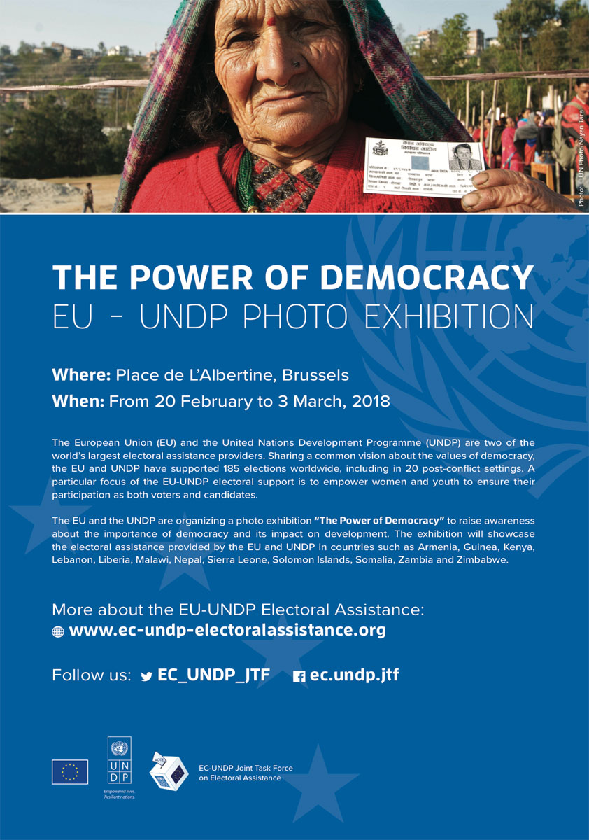 EC-UNDP JTF - Photo Exhibition