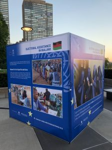 Photo exhibition showcases UN's partnerships in electoral assistance
