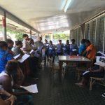 A workshop on voter awareness in Solomon Islands