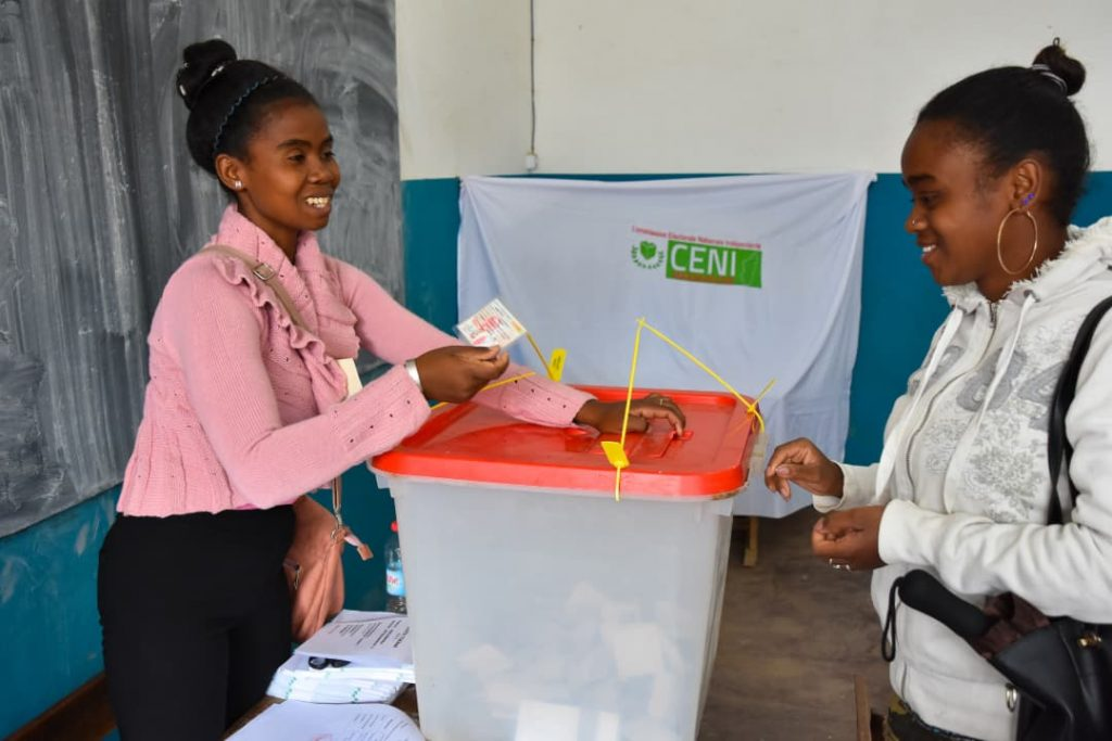 Improvement Madagascar presidential elections