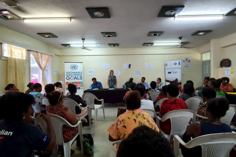 ec-undp-launchinf-of-outstanding-women-initiative-in-solomon-islands