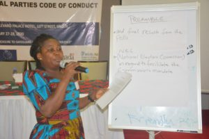 Political Parties Dialogue on the Revision of Code of Conduct Liberia