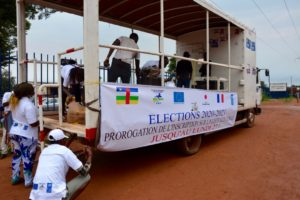 awareness raising elections Central African Republic