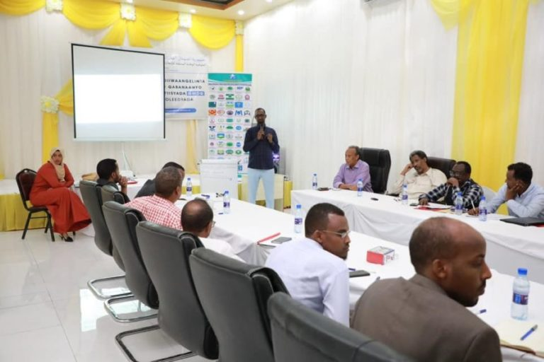 UNDP Somalia capacity-building workshop elections political parties